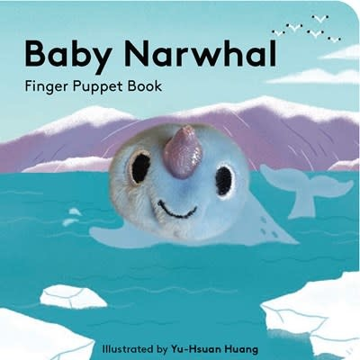 Chronicle Books Baby Narwhal: Finger Puppet Book