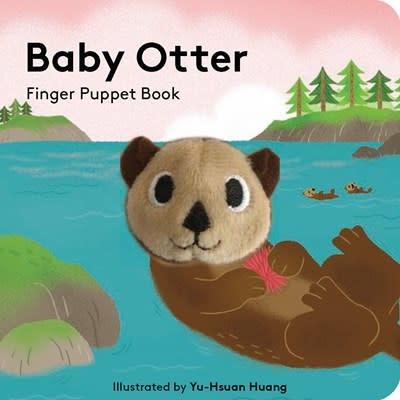 Chronicle Books Baby Otter: Finger Puppet Book