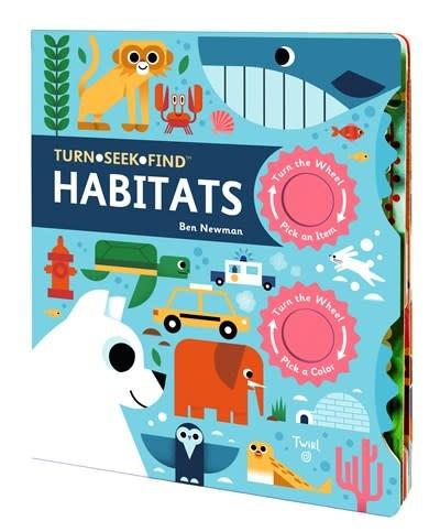 Twirl Turn Seek Find:Habitats