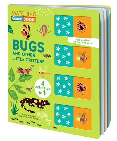 Twirl Matching Game Book: Bugs and Other Little Critters