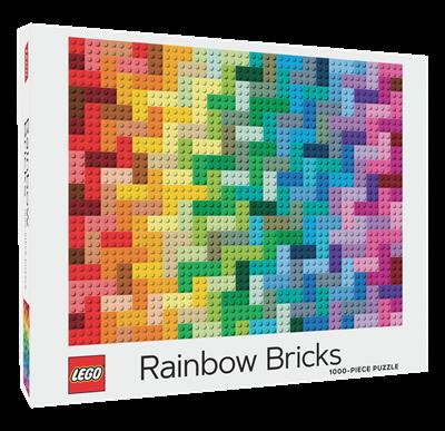 Chronicle Books LEGO Rainbow Brick Puzzle