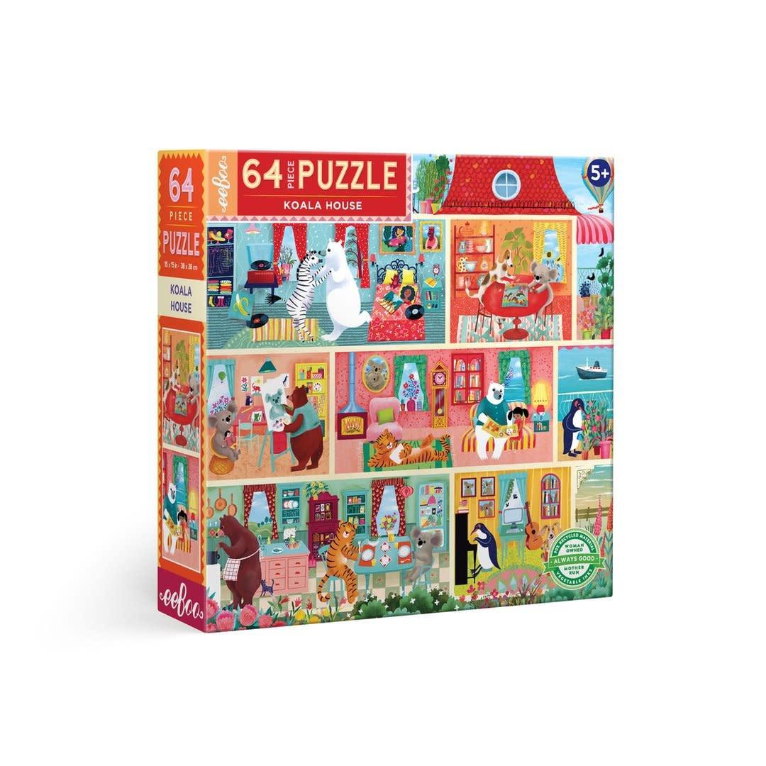 Koala House (64 Piece Puzzle)