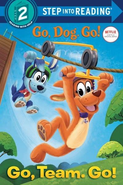 Random House Books for Young Readers Netflix Go, Dog. Go!: Go, Team. Go! (Step-into-Reading, Lvl 2)