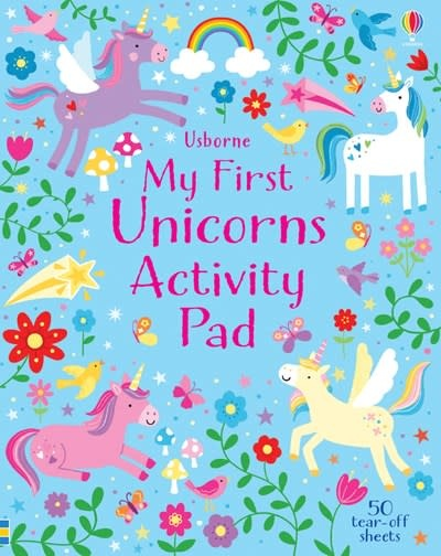 My First Unicorns Activity Pad