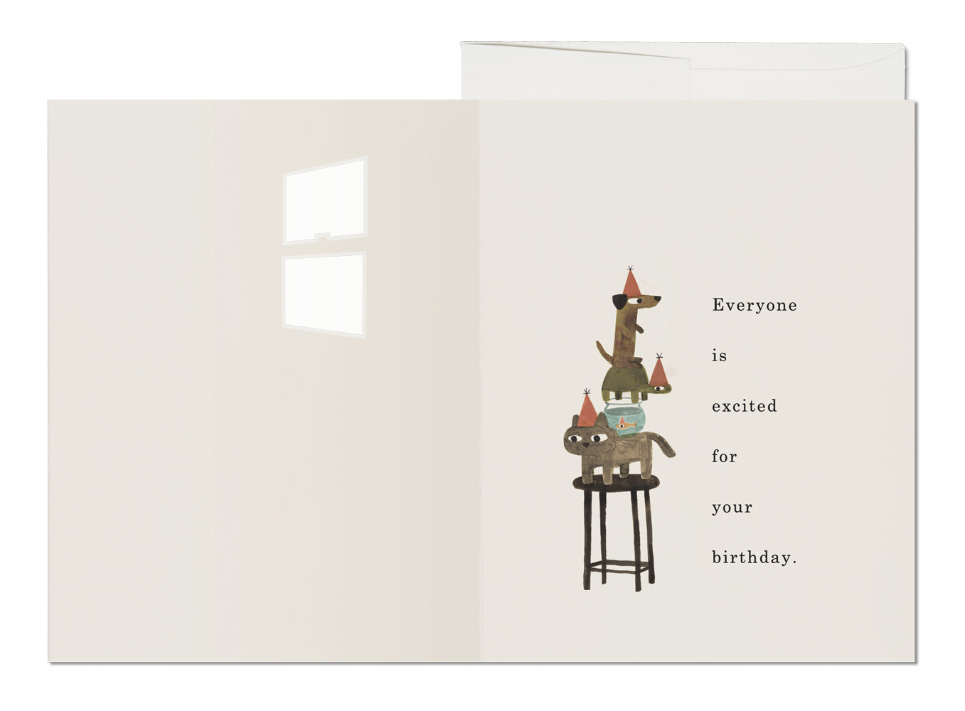 Everyone is Excited (Birthday Card)