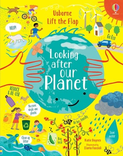 Usborne Lift-the-Flap Looking After Our Planet iR
