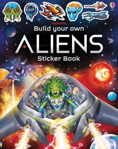 Usborne Build your Own Aliens Sticker Book
