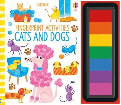Usborne Fingerprint Activities - Cats and Dogs