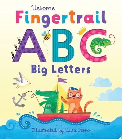 Usborne Usborne: Fingertrail ABC: Big Letters