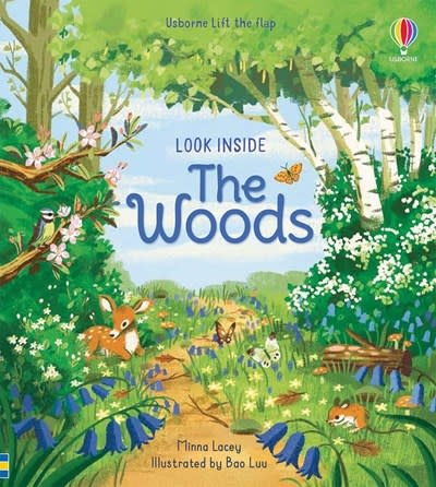 Usborne Look Inside the Woods IR