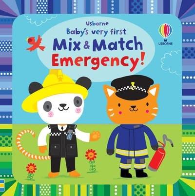 Usborne Baby's Very First Mix & Match Emergency!