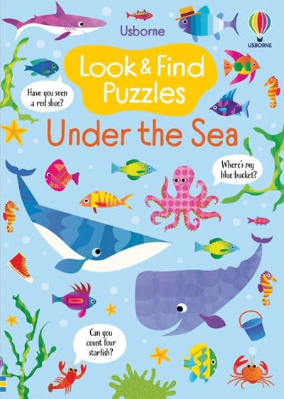 Usborne Look & Find Puzzles - Under the Sea
