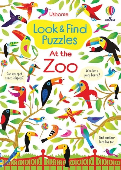 Usborne Look & Find Puzzles - At the Zoo