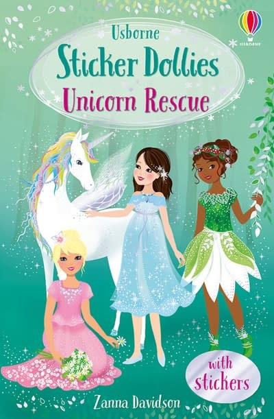 Usborne Sticker Dollies: Unicorn Rescue