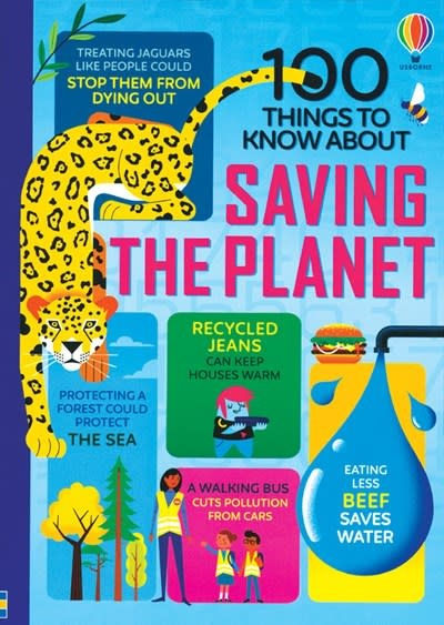 Usborne 100 Things to Know About Saving the Planet IR