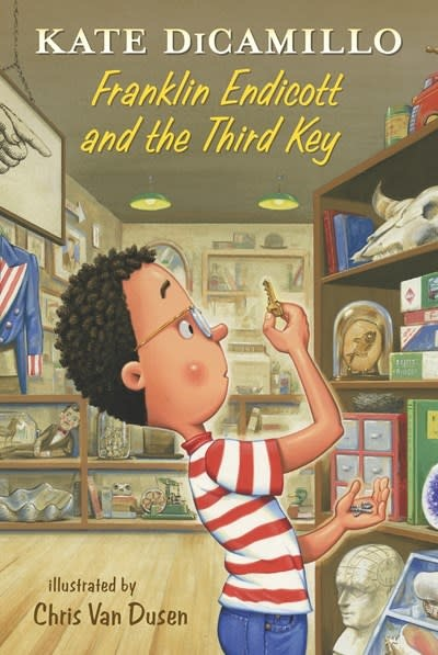 Candlewick Franklin Endicott and the Third Key