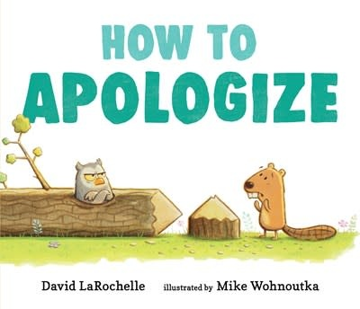 Candlewick How to Apologize