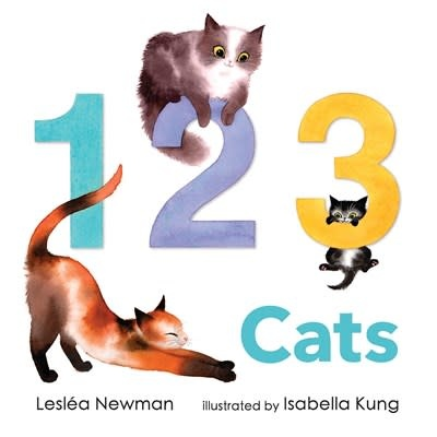 Candlewick 1 2 3 Cats: A Cat Counting Book