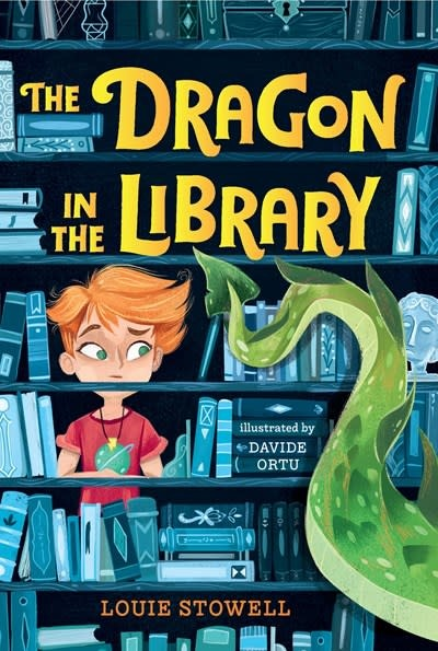 Walker Books US The Dragon in the Library