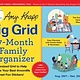 Sourcebooks 2022 Amy Knapp's Big Grid Family Organizer