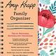 Sourcebooks 2022 Amy Knapp's Family Organizer
