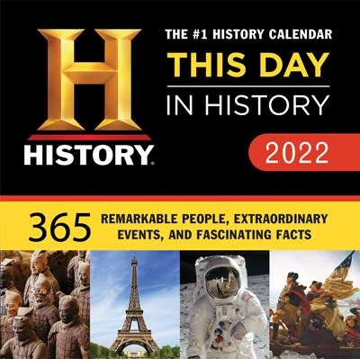 Sourcebooks 2022 History Channel This Day in History Boxed Calendar