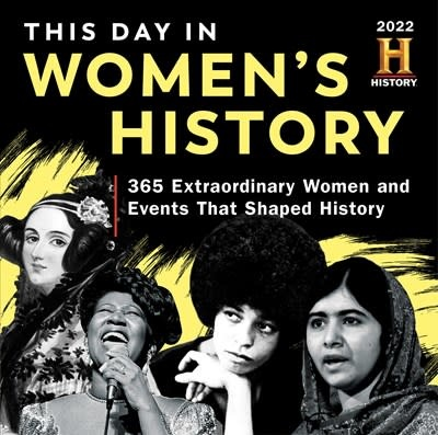 Sourcebooks 2022 History Channel This Day in Women's History Boxed Calendar