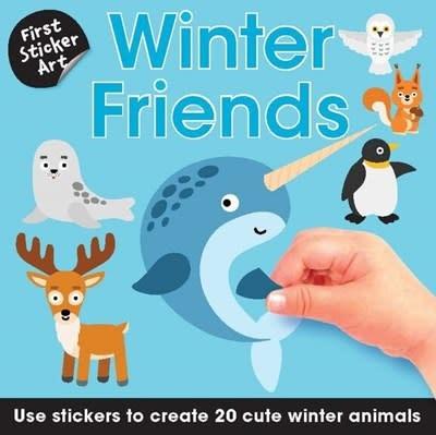 B.E.S. First Sticker Art: Winter Friends