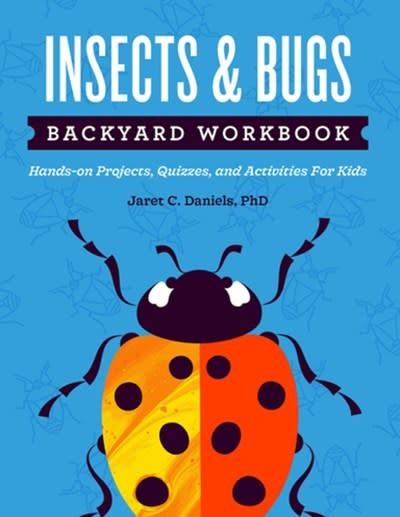 Adventure Publications Insects & Bugs Backyard Workbook