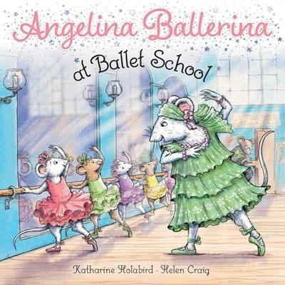 Simon Spotlight Angelina Ballerina at Ballet School