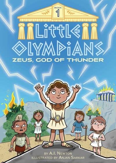 little bee books Little Olympians 1: Zeus, God of Thunder