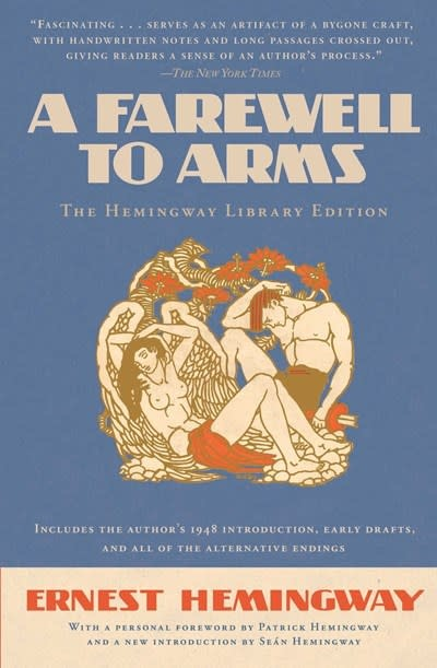 Scribner A Farewell to Arms (Hemingway Library Ed.)