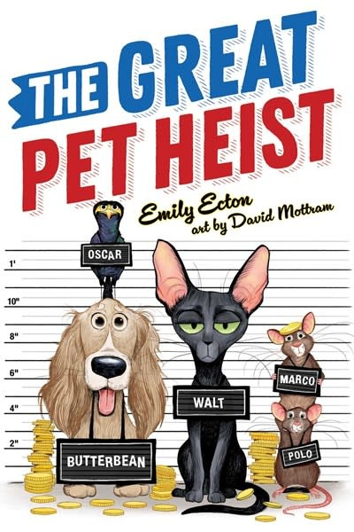 Atheneum Books for Young Readers The Great Pet Heist