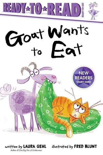 Simon Spotlight Goat Wants to Eat (Ready-to-Read Phonics Reader)