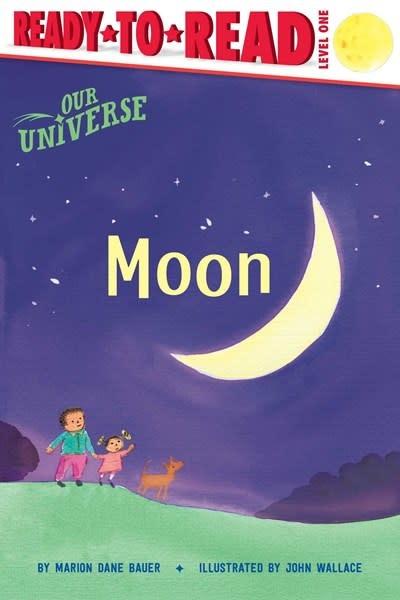 Simon Spotlight Our Universe: Moon (Ready-to-Read, Lvl 1)