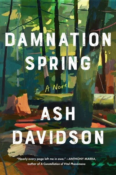 Scribner Damnation Spring: A novel