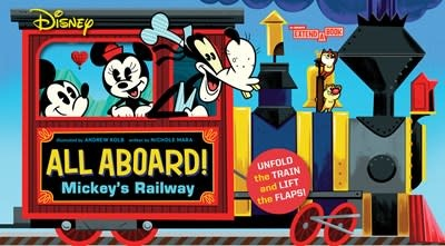 Abrams Appleseed Disney All Aboard! Mickey's Railway (An Abrams Extend a Book)
