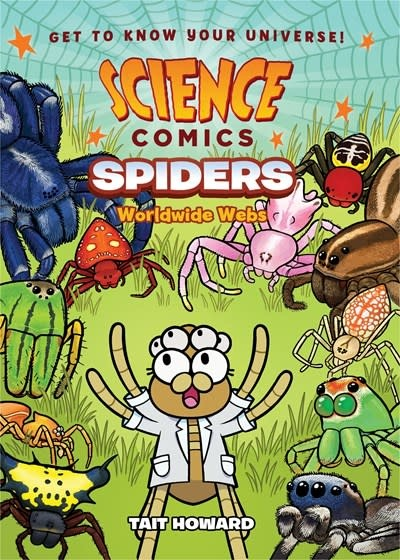 First Second Science Comics: Spiders