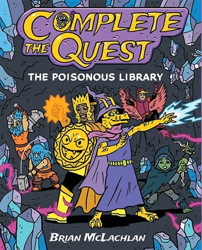 Imprint Complete the Quest: The Poisonous Library