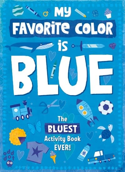 Odd Dot My Favorite Color Activity Book: Blue