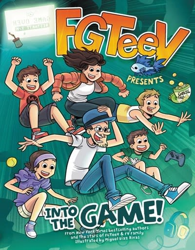 HarperAlley FGTeeV Presents: Into the Game!