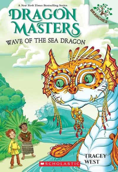 Scholastic Inc. Dragon Masters 19 Wave of the Sea Dragon