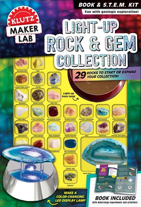 Klutz Light-Up Rocks & Gems Collection
