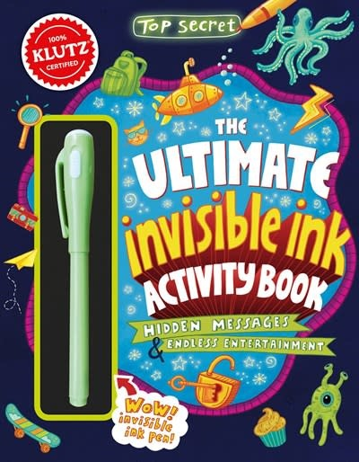 Klutz Top Secret: Ultimate Invisible Ink Activity Book (Klutz Activity Book)