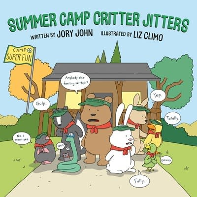 Dial Books Summer Camp Critter Jitters