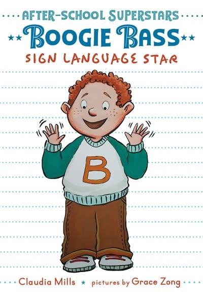 Margaret Ferguson Books Boogie Bass, Sign Language Star