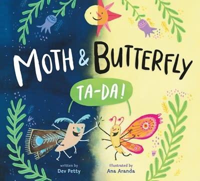 Nancy Paulsen Books Moth & Butterfly: Ta Da!