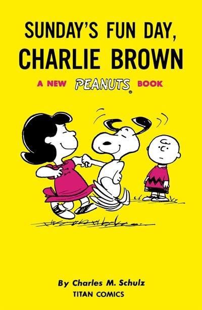 Titan Comics Peanuts: Sunday's Fun Day, Charlie Brown