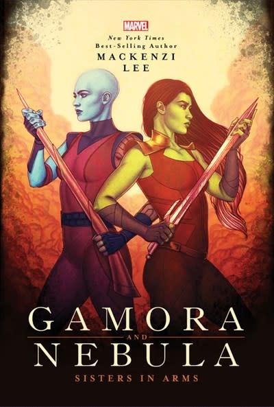 Marvel Press Gamora and Nebula
