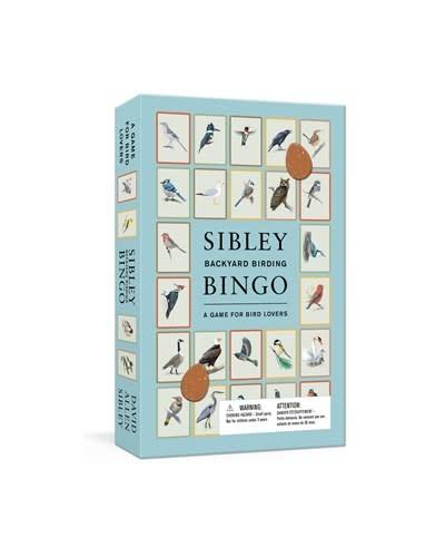 Clarkson Potter Sibley Backyard Birding Bingo